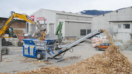 08.03.2017: Lindner Urraco 75D für Rhomberg Recycling